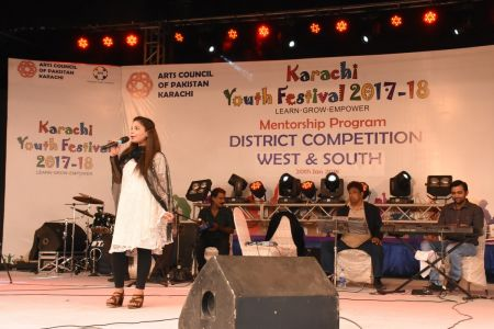 Singing Competitions Of District West & South Youth Festival 2017-18 Arts Council Karachi (40)