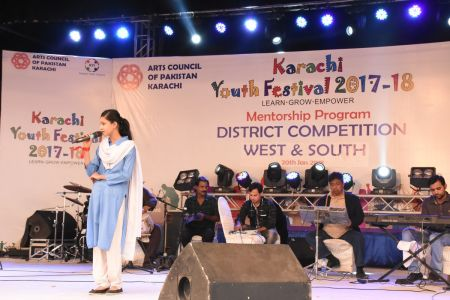 Singing Competitions Of District West & South Youth Festival 2017-18 Arts Council Karachi (41)
