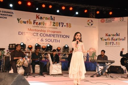 Singing Competitions Of District West & South Youth Festival 2017-18 Arts Council Karachi (4)