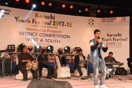 Singing Competitions Of District West & South Youth Festival 2017-18 Arts Council Karachi (6)