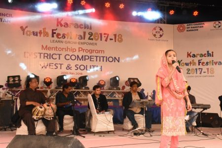Singing Competitions Of District West & South Youth Festival 2017-18 Arts Council Karachi (7)