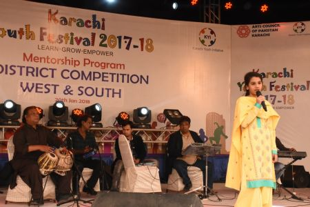 Singing Competitions Of District West & South Youth Festival 2017-18 Arts Council Karachi (8)