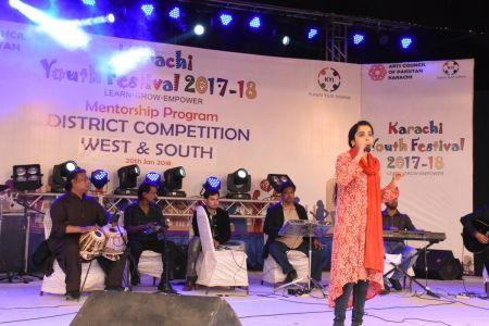 Singing Competitions Of District West & South Youth Festival 2017-18 Arts Council Karachi (9)