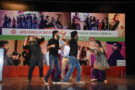 Tehreek E Comedy Performance At Arts Council Karachi (11)