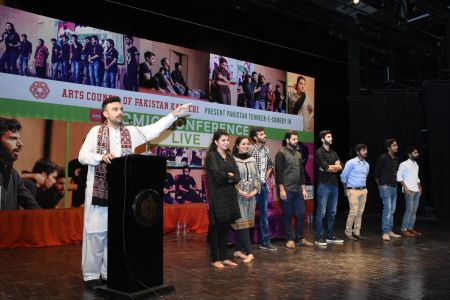 Tehreek E Comedy Performance At Arts Council Karachi (1)