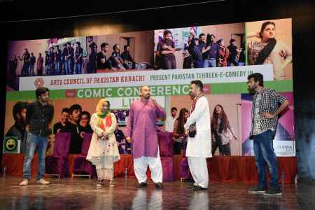 Tehreek E Comedy Performance At Arts Council Karachi (23)