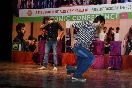 Tehreek E Comedy Performance At Arts Council Karachi (24)