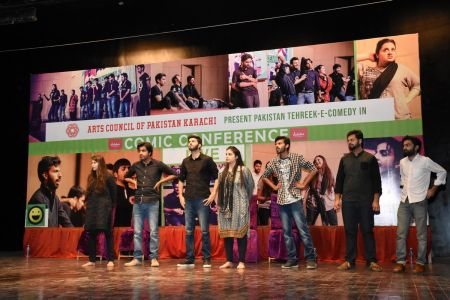 Tehreek E Comedy Performance At Arts Council Karachi (27)