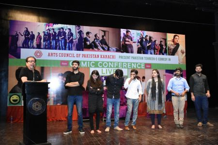 Tehreek E Comedy Performance At Arts Council Karachi (32)
