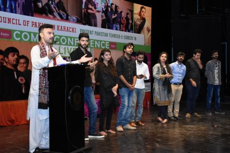 Tehreek E Comedy Performance At Arts Council Karachi (35)