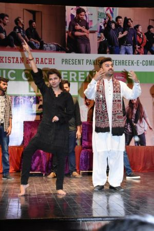 Tehreek E Comedy Performance At Arts Council Karachi (3)