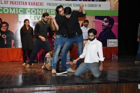 Tehreek E Comedy Performance At Arts Council Karachi (8)
