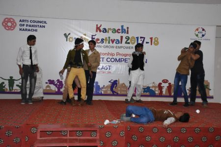 Theater Competitions District East, Karachi Youth Festival 2017-18 (1)