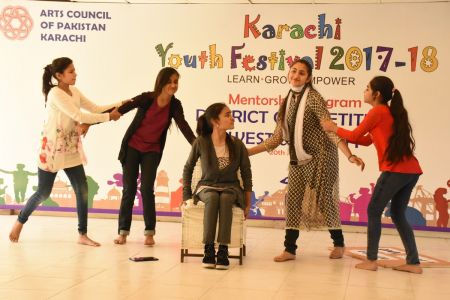 Theater Competitions District West & South, Arts Council Youth Festival 2018 (14)