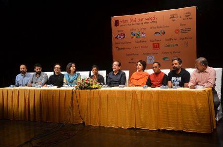 Theater \'Mian Biwi Aur Wagah\' Press Conference (5)