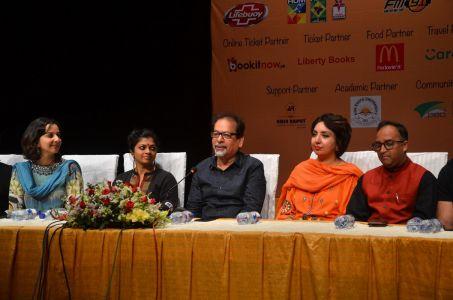 Theater \'Mian Biwi Aur Wagah\' Press Conference (6)