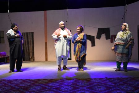 Theater Play Munda Bigree Jaye At Arts Council\'s Awami Theater Festival 2018 (12)