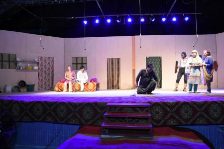 Theater Play Munda Bigree Jaye At Arts Council\'s Awami Theater Festival 2018 (18)