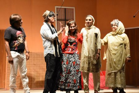 Theater Play Munda Bigree Jaye At Arts Council\'s Awami Theater Festival 2018 (23)