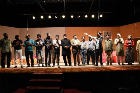 Theater Play Munda Bigree Jaye At Arts Council\'s Awami Theater Festival 2018 (24)