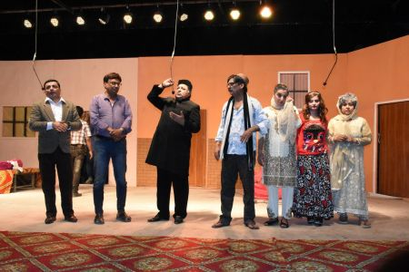 Theater Play Munda Bigree Jaye At Arts Council\'s Awami Theater Festival 2018 (25)