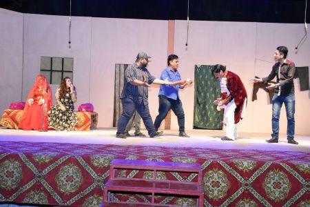 Theater Play Munda Bigree Jaye At Arts Council\'s Awami Theater Festival 2018 (4)