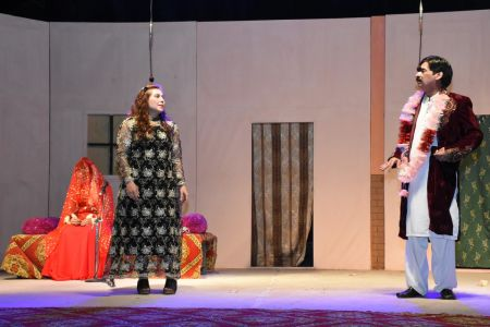 Theater Play Munda Bigree Jaye At Arts Council\'s Awami Theater Festival 2018 (5)