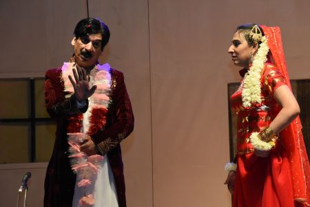 Theater Play Munda Bigree Jaye At Arts Council\'s Awami Theater Festival 2018 (7)