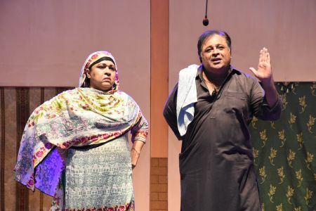 Theater Play Munda Bigree Jaye At Arts Council\'s Awami Theater Festival 2018 (8)