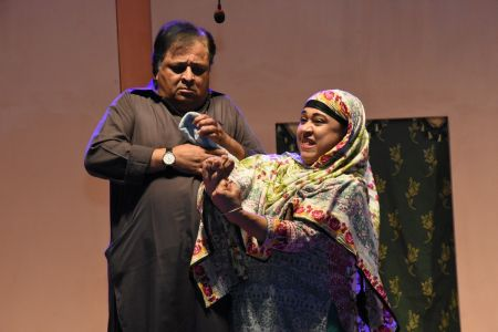 Theater Play Munda Bigree Jaye At Arts Council\'s Awami Theater Festival 2018 (9)