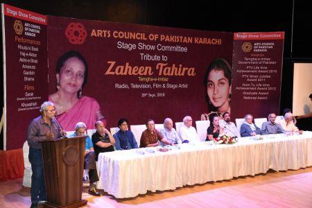 Tribute To Artist Zaheen Tahira At Arts Council Karachi(4)