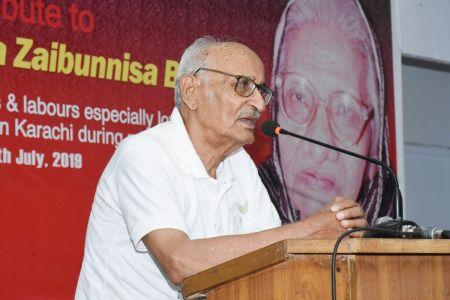 Tribute To Comrade Shanta Zaibunisa Bukhari At Arts Council Karachi (10)