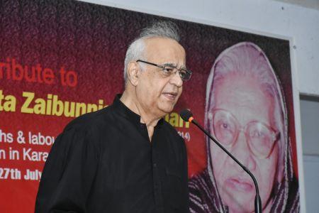 Tribute To Comrade Shanta Zaibunisa Bukhari At Arts Council Karachi (11)