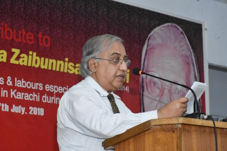 Tribute To Comrade Shanta Zaibunisa Bukhari At Arts Council Karachi (14)