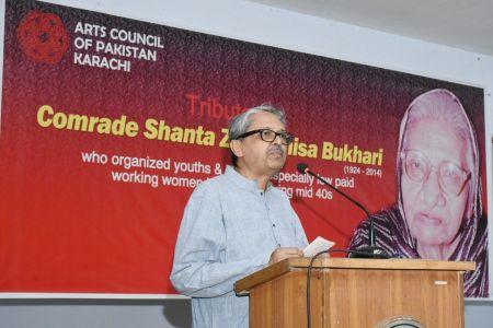 Tribute To Comrade Shanta Zaibunisa Bukhari At Arts Council Karachi (2)