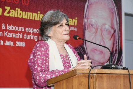 Tribute To Comrade Shanta Zaibunisa Bukhari At Arts Council Karachi (5)