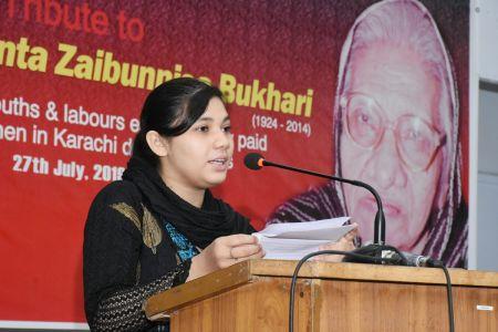 Tribute To Comrade Shanta Zaibunisa Bukhari At Arts Council Karachi (8)
