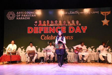 Tribute To Mertyres Of 6th Sept At Arts Council Karachi (15)