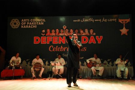 Tribute To Mertyres Of 6th Sept At Arts Council Karachi (16)