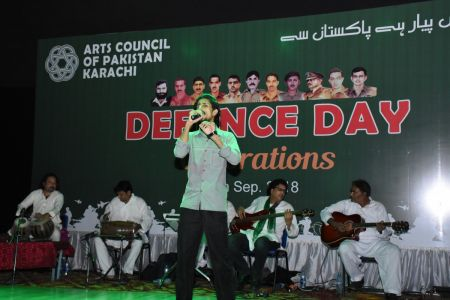 Tribute To Mertyres Of 6th Sept At Arts Council Karachi (17)