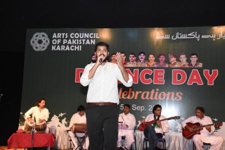 Tribute To Mertyres Of 6th Sept At Arts Council Karachi (18)