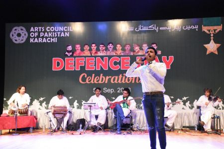 Tribute To Mertyres Of 6th Sept At Arts Council Karachi (19)