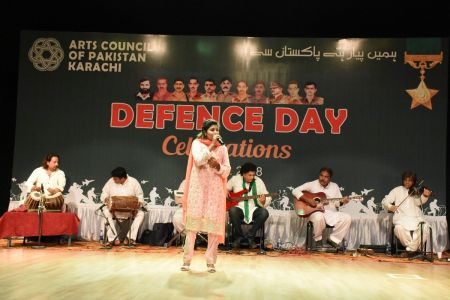 Tribute To Mertyres Of 6th Sept At Arts Council Karachi (25)