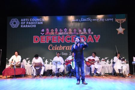 Tribute To Mertyres Of 6th Sept At Arts Council Karachi (27)