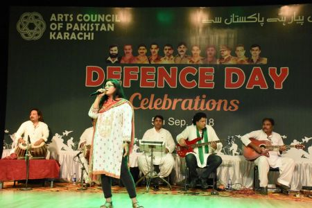 Tribute To Mertyres Of 6th Sept At Arts Council Karachi (3)