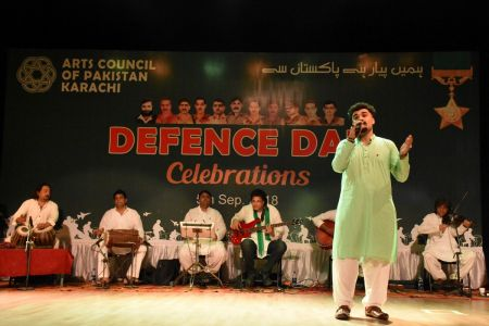 Tribute To Mertyres Of 6th Sept At Arts Council Karachi (6)
