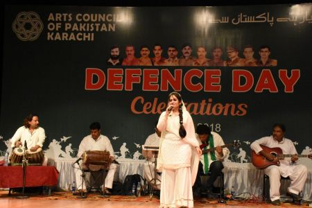 Tribute To Mertyres Of 6th Sept At Arts Council Karachi (7)