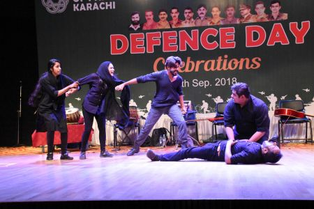 Tribute To Mertyres Of 6th Sept At Arts Council Karachi (9)