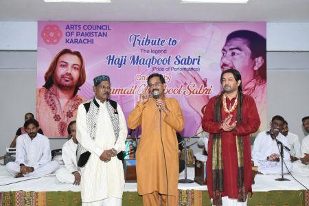 Tribute To Legend Ustad Maqbool Sabri At Arts Council Karachi (1)