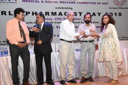 World Pharmacist Day 2018 Celebrating At Arts Council Karachi (28)